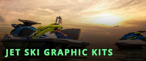 PWC Jet Ski Graphic Kits