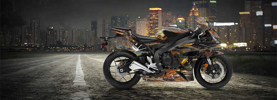 Street Sport Bike Graphics