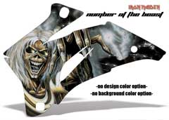 <b>Number of the Beast</b><br />No options for Design Color or Background color. Iron Maiden designs look great on Black plastics! This sample image shows: Design Color = NA, Background Color = NA