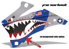 <b>P40 Warhawk</b><br />Design color can be changed in this design. No options for Background color. This sample image shows: Design Color = Blue, Background Color = NA