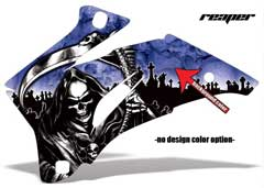 <b>Reaper</b><br />Design color can be changed in this design. No options for Background color. Several shades of selected design color will be displayed in the Camo pattern and Planes. This sample image shows: Design Color = Blue, Background Color = NA