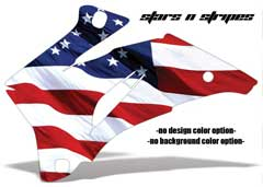 <b>Stars n Stripes</b><br />No options for Design Color or Background color. This sample image shows: Design Color = NA, Background Color = NA