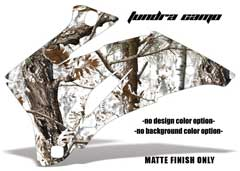 <b>Tundra Camo</b><br />No options for Design Color or Background color. MATTE FINISH ONLY - This sample image shows: Design Color = NA, Background Color = NA