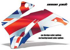 <b>Union Jack</b><br />No options for Design Color or Background color. This sample image shows: Design Color =