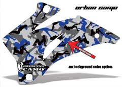<b>Urban Camo</b><br />Design color can be changed in this design. No options for Background color. Design Color selection determines the color of random girl silhouettes, the remaining silhouettes will be made up of Black and Grey girls. This sample image shows: Design Color =