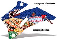 <b>Vegas Baller</b><br />Background color can be changed in this design. No options for design color. Skull head will remain grey as pictured. This sample image shows: Design Color =