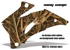 <b>Wing Camo</b><br />No options for Design Color or Background color. MATTE FINISH ONLY - This sample image shows: Design Color = NA, Background Color = NA