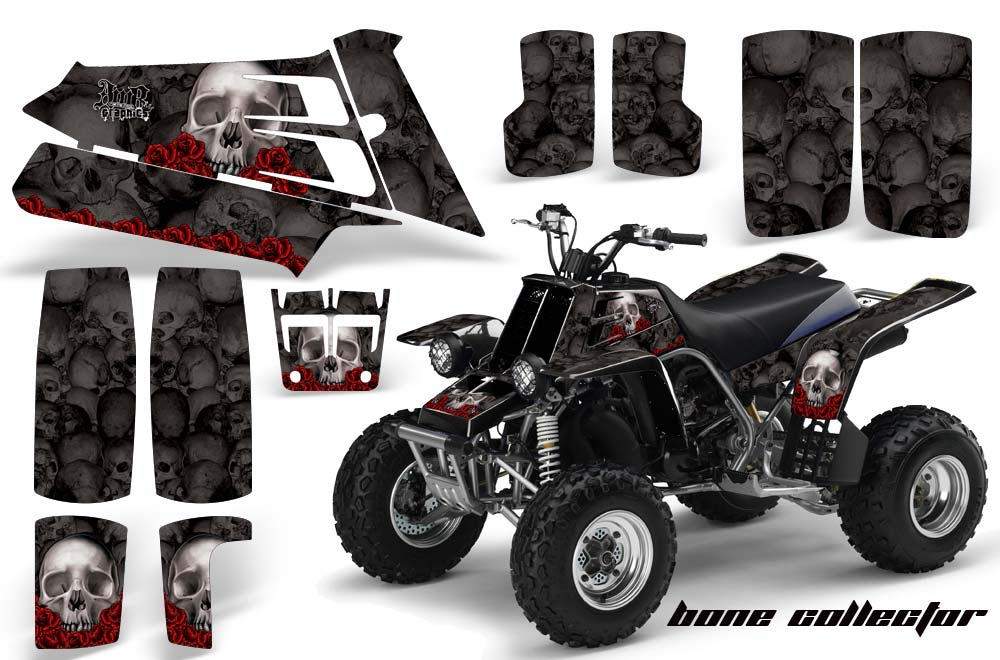 Yamaha banshee 350 full bore plastics atv graphics bone for What year is my yamaha atv