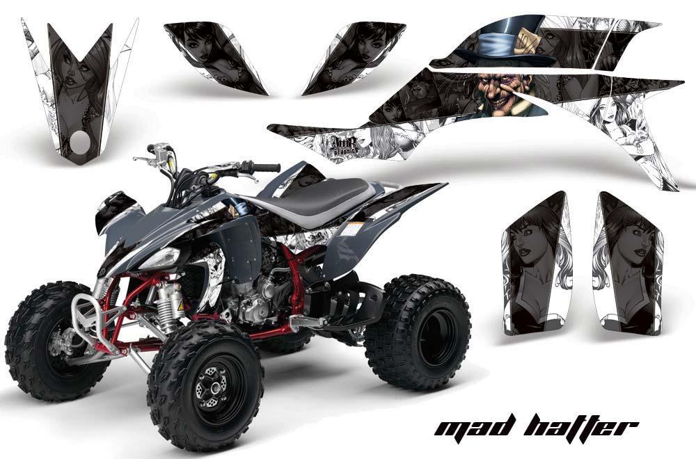 Yamaha YFZ 450 ATV Graphics Mad Hatter
