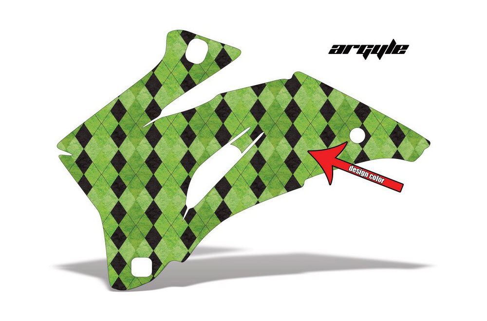 Polaris Ranger EV Electric Argyle - Customized Graphic Kit