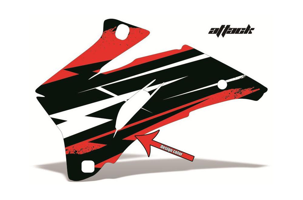 Polaris Ranger EV Electric Attack - Customized Graphic Kit