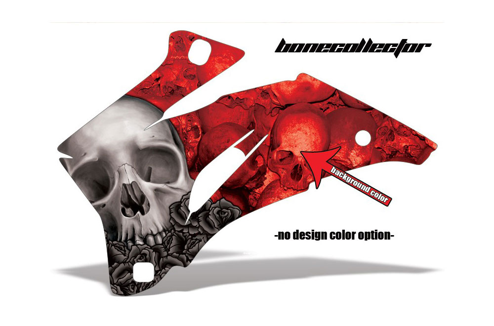 Polaris Ranger EV Electric Bone Collector - Customized Graphic Kit