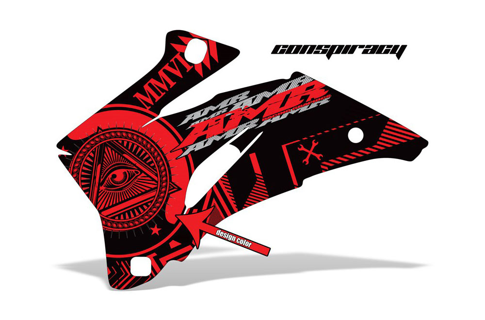 Polaris Ranger EV Electric Conspiracy - Customized Graphic Kit