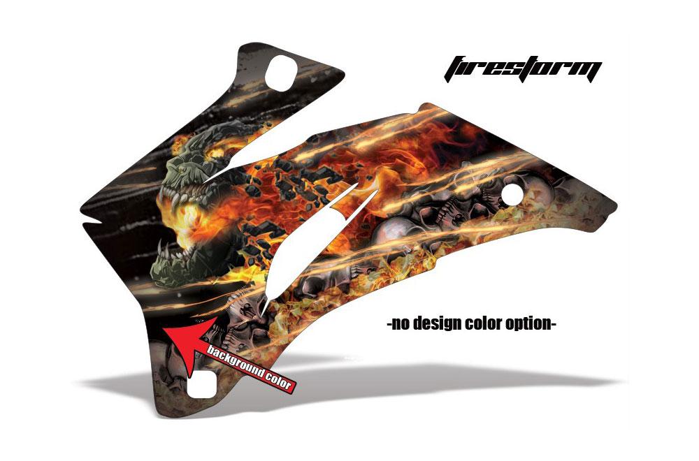 Polaris Ranger EV Electric Firestorm - Customized Graphic Kit