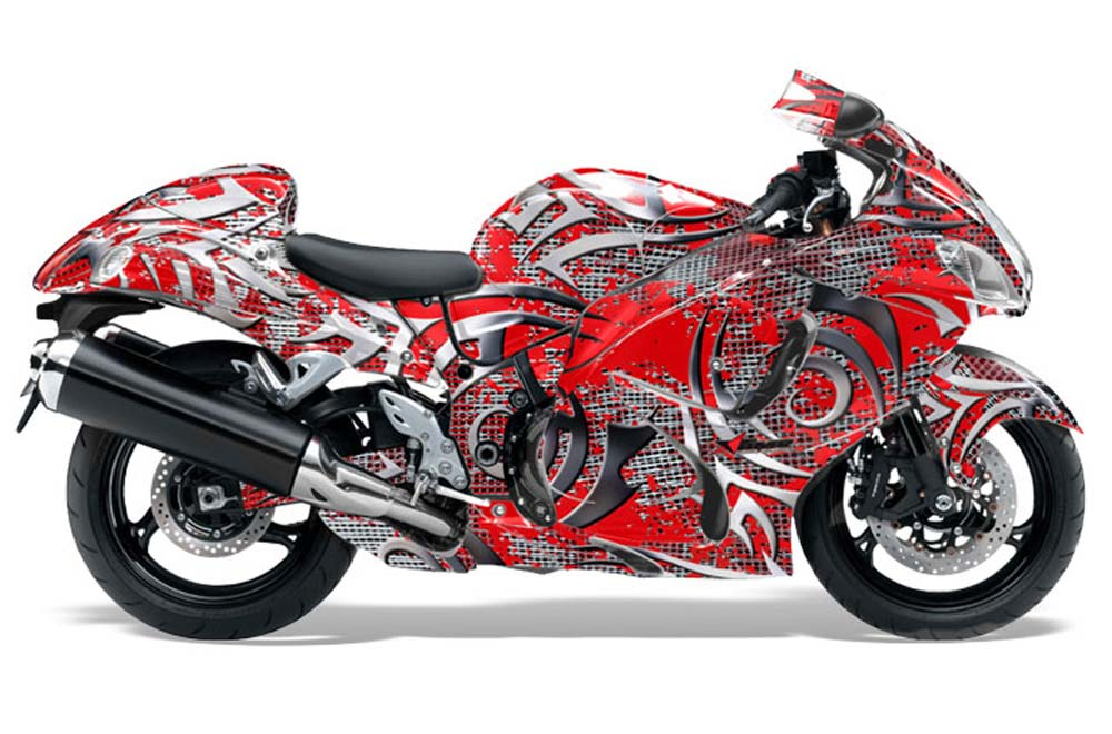 suzuki gsxr 1300 hayabusa street bike graphics deaden