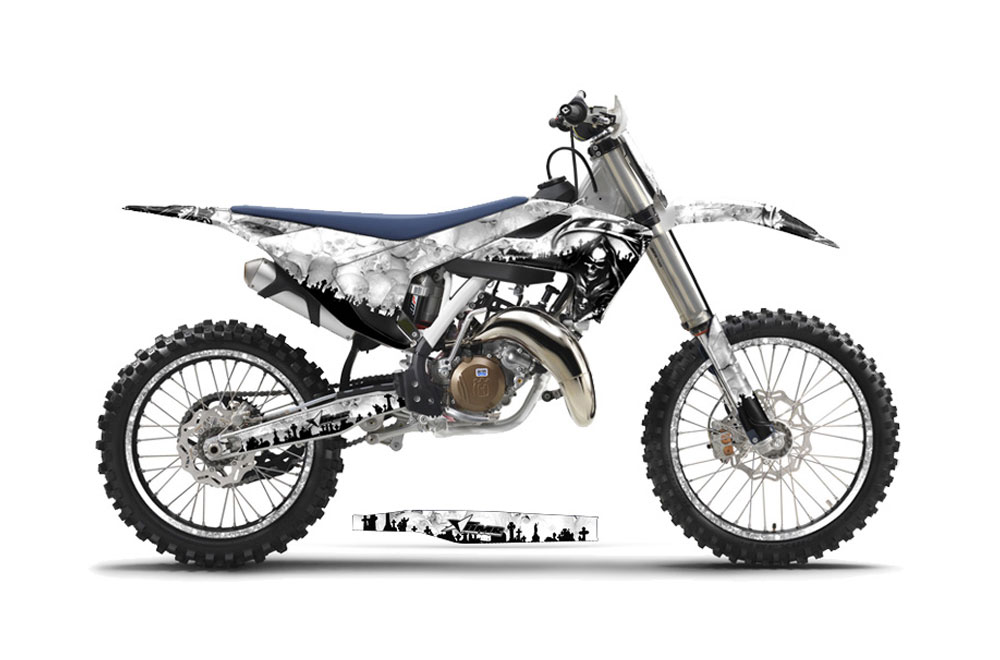 husqvarna tc 250 dirt bike graphics  reaper