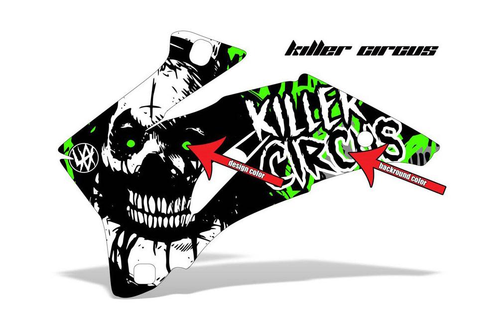 Polaris Ranger EV Electric Killer Circus - Customized Graphic Kit