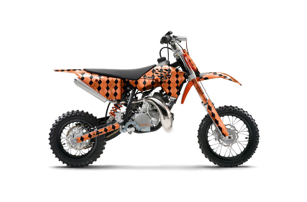 KTM Sx 50 Adventure Jr Dirt Bike Graphics Argyle Orange Mx. KTM Sx 50 Adventure Jr Dirt Bike Graphics Argyle Orange Mx Graphic Wrap Kit. KTM. KTM 50 Dirt Bike Diagram At Scoala.co