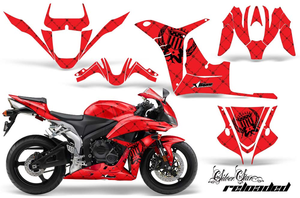 Honda Cbr 600 Rr Street Bike Graphics Reloaded Red Sport Bike