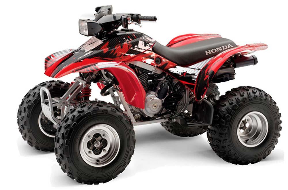 [SODI_2457]   Honda TRX 300EX ATV Graphics: Carbon X - Red Quad Graphic Decal Wrap Kit |  ATV Graphic Kits | Graphic Kits | Honda 300ex Atv Engine Diagram |  | Nationwide