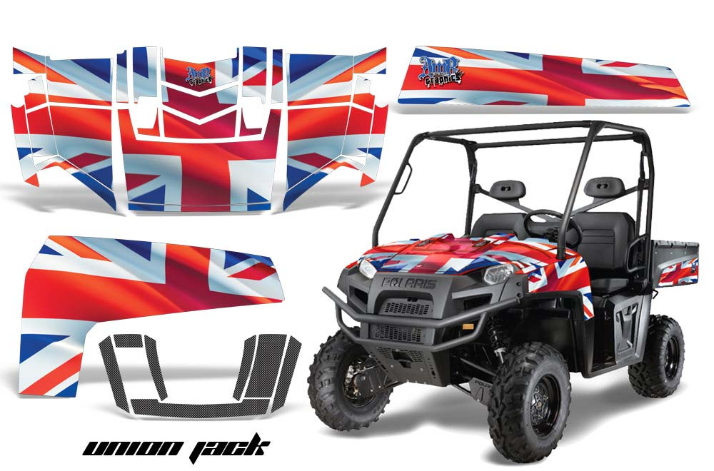 Polaris Ranger XP 500/800/900D 4x4 EFI UTV Graphics (2010-2014)