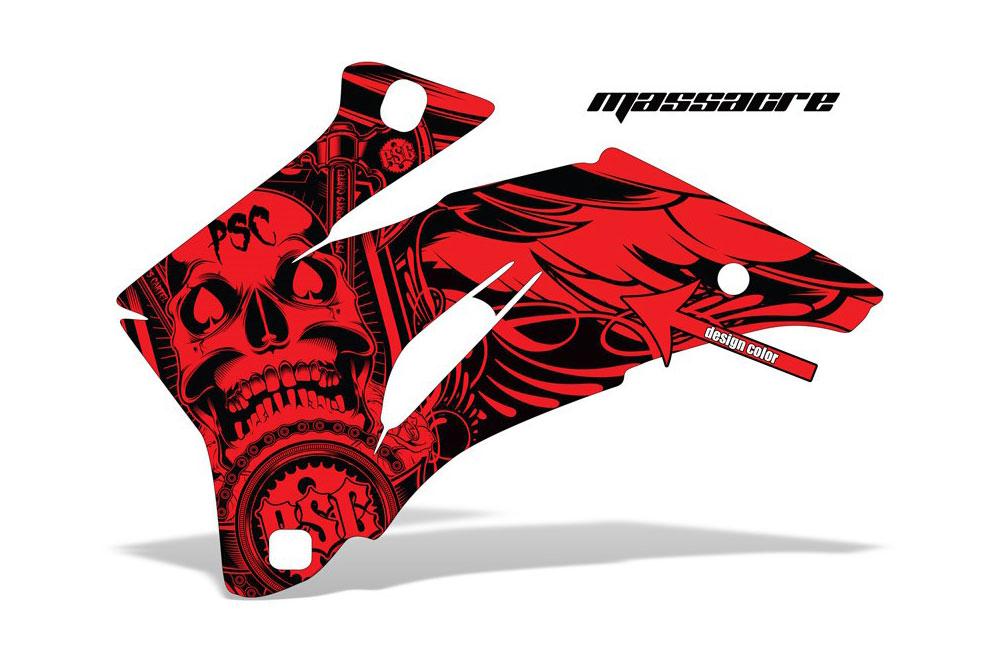 Polaris Ranger EV Electric PSC - Massacre - Customized Graphic Kit