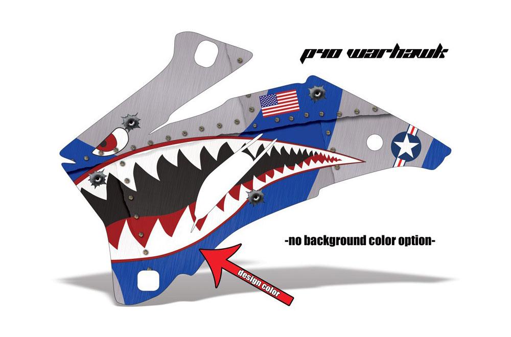 Polaris Ranger EV Electric P40 Warhawk - Customized Graphic Kit