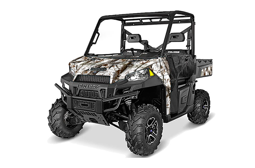 Polaris Ranger 570 900 Xp Utv Graphics Tundra Camo Side