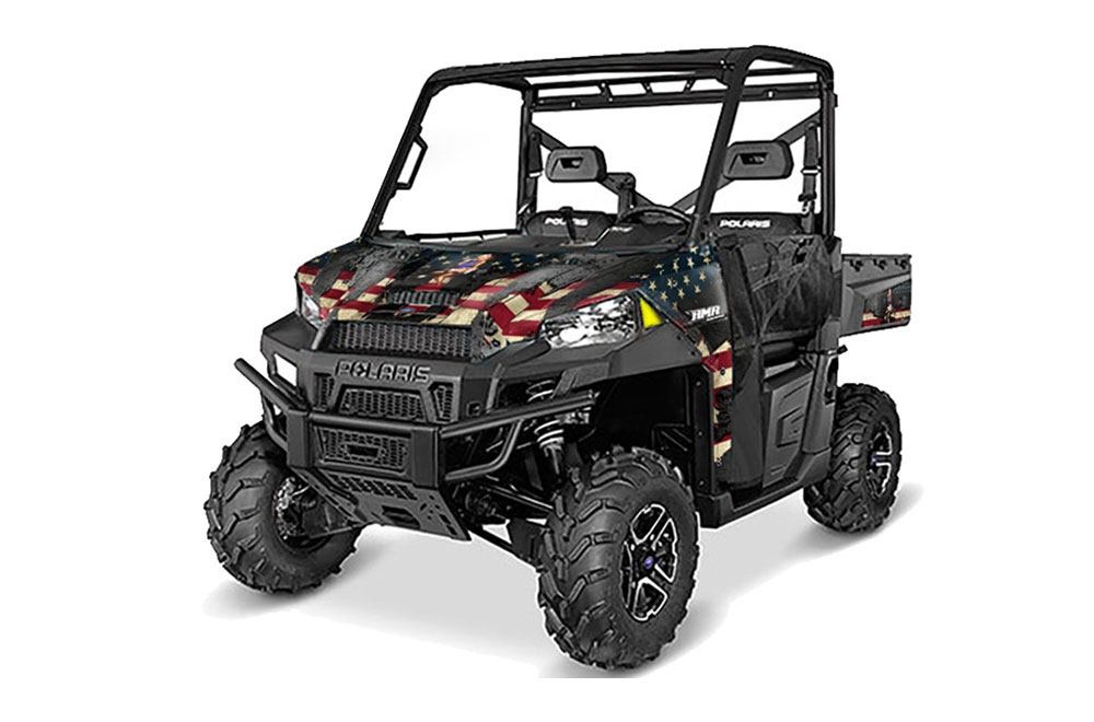 Polaris Ranger 570/900 XP UTV Graphics: WW2 Side by Side Graphic Decal Wrap Kit