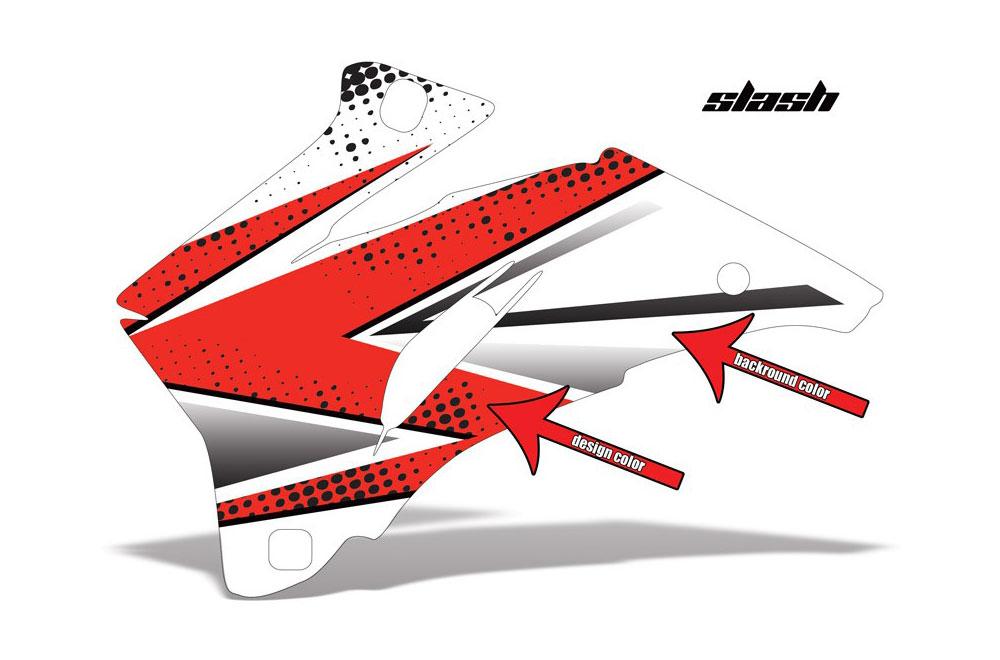 Polaris Ranger EV Electric Slash - Customized Graphic Kit