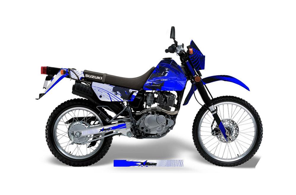 Suzuki DRZ 200 SE Dirt Bike Graphics (1996-2009)