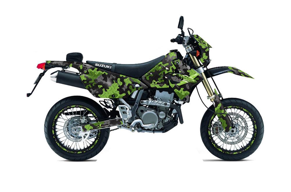Suzuki DRZ 400 S Metal Tank Dirt Bike Graphics (2000-2015)