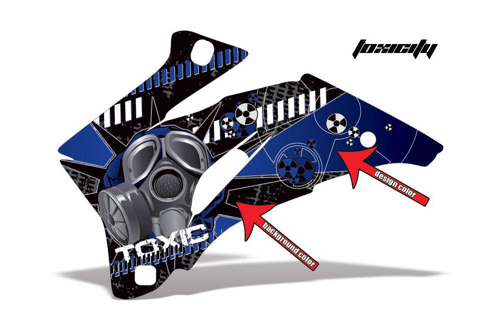 Polaris Ranger EV Electric Toxicity - Customized Graphic Kit