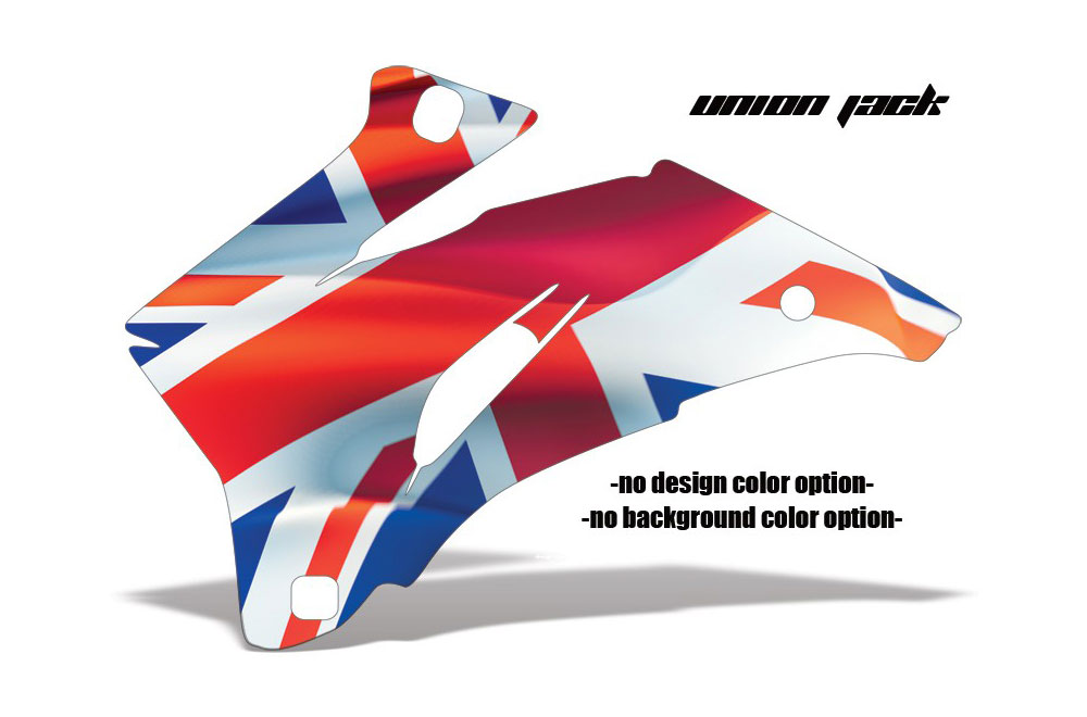Polaris Ranger EV Electric Union Jack - Customized Graphic Kit