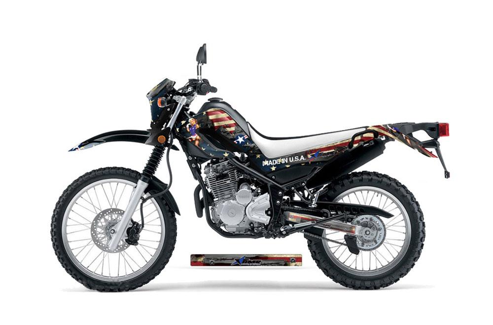 Yamaha XT250X Dirt Bike Graphics: WW2 - MX Graphic Decal Wrap Kit (2006-2016)