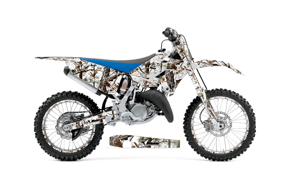 Yamaha YZ Dirt Bike Graphics Tundra Camo MX Graphic Decal - Decal graphics for dirt bikes