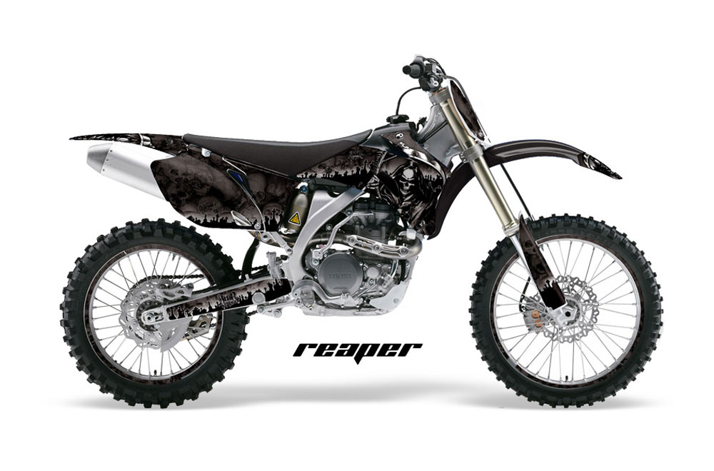 yamaha yz250 f 4 stroke dirt bike graphicsreaper
