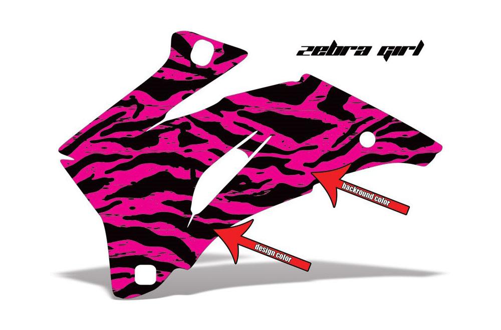 Polaris Ranger EV Electric Zebra Girl - Customized Graphic Kit
